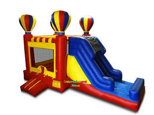 Balloon Bounce 'N' Slide Combo