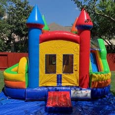Combo Obstacle Slide Bounce House